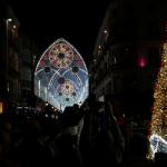 Kerstverlichting Málaga 2017