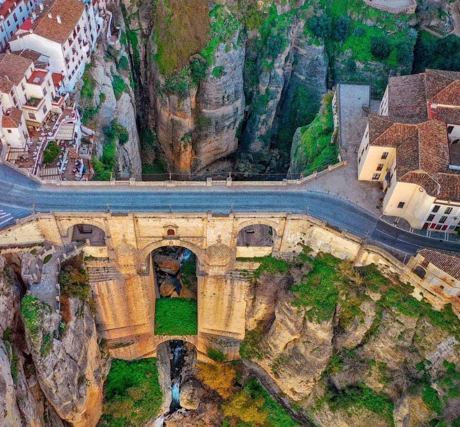 Puente Nuevo in Ronda, Malaga