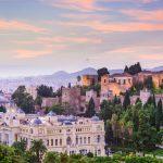 Malaga stad Andalusië