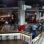La Fabrica grand café in Malaga