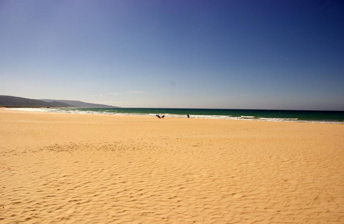 Strand van Barbate Andalusië