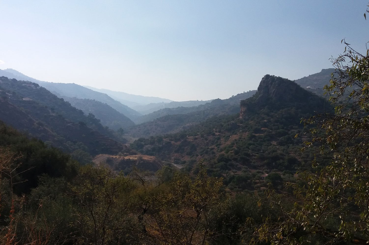 Het prachtige Axarquia gebied