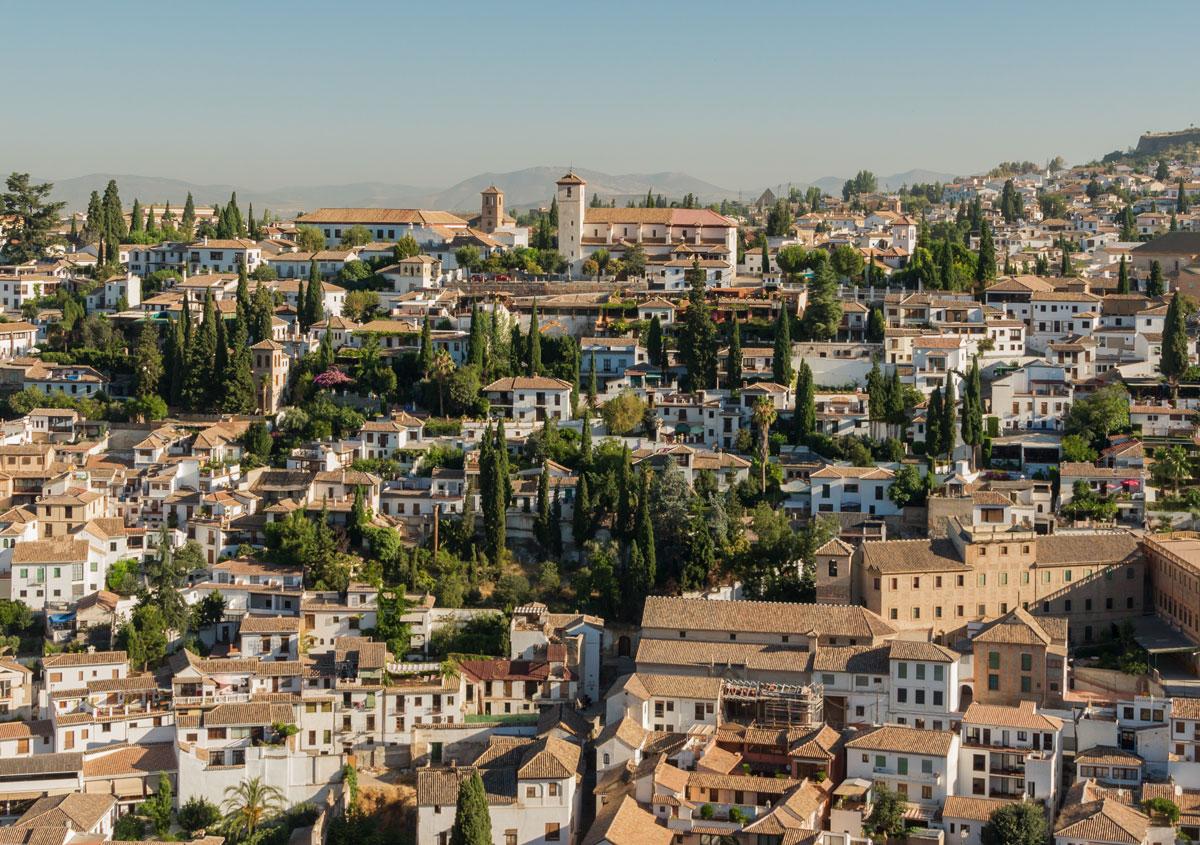 Albacin Granada Andalusië
