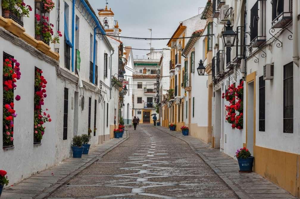 Straatje in Cordoba stad