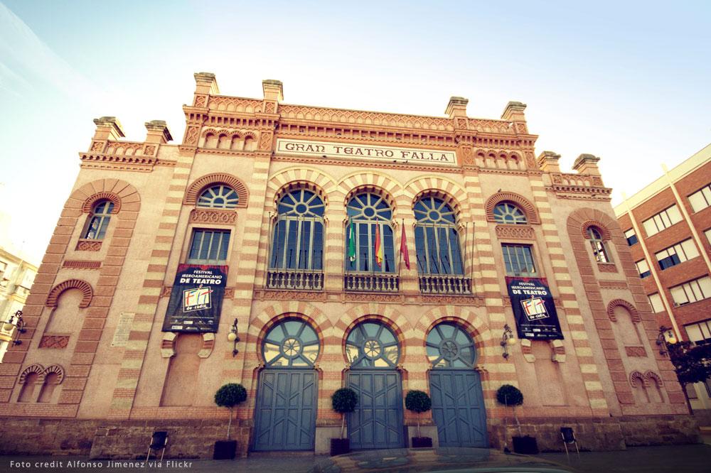 Gran Teatro Fallo in Cadiz