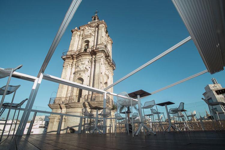 San Juan Rooftopbar in Malaga