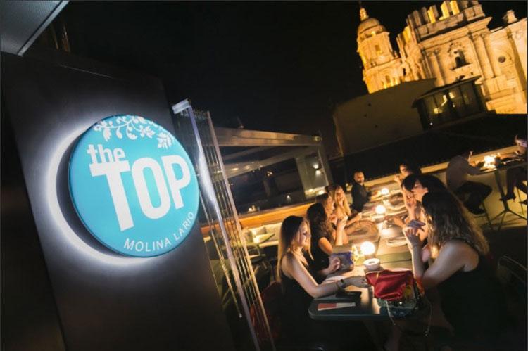 The Top dakterras in Malaga