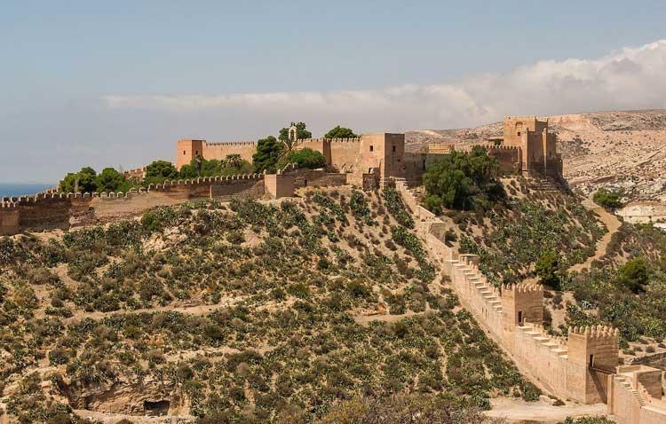 Alcazaba Almeria Andalusië