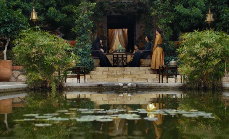 GoT Dorne filmlocatie Alcazaba de Almeria in Andalusië