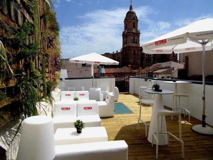 Dakterras Chinitas Lounge Malaga