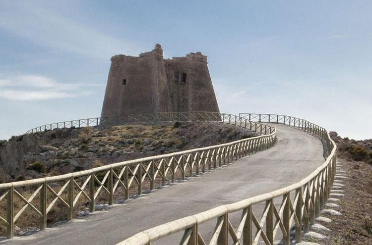 Mesa Roldan in Cabo de Gata provincie Almeria