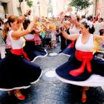 Verdiales dansers Feria de Malaga