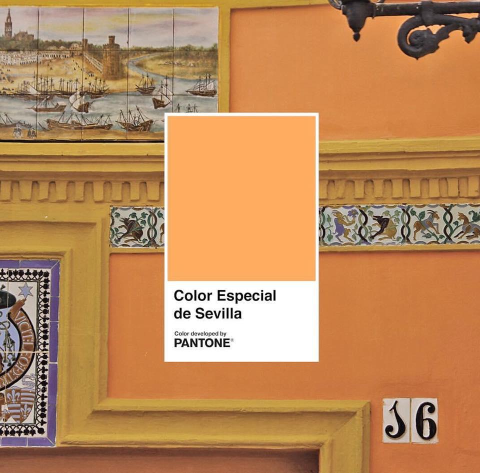 Sevilla heeft een eigen Pantone kleur