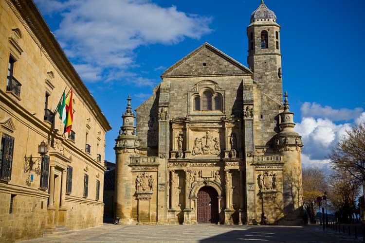 Ubeda kerk in Andalusië
